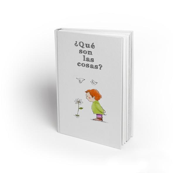 """Editorial Totem, Portada e ilustraciones del libro """"¿Qué son las cosas?"""""""