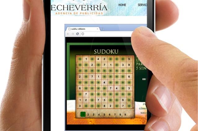 Voll Damm Sudoku app