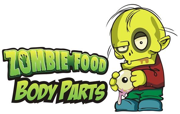Logotipo Zombie Food Body Parts