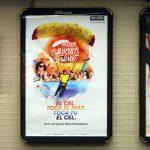 Cartel Vía pública Skydive Empuriabrava Beach Festival