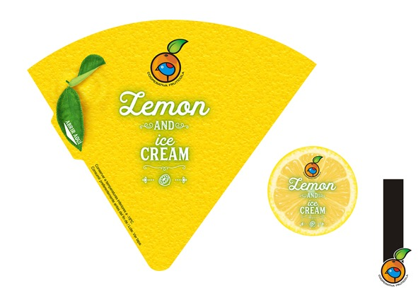 Packaging Lemon and ice cream Cooperativa Frutícola