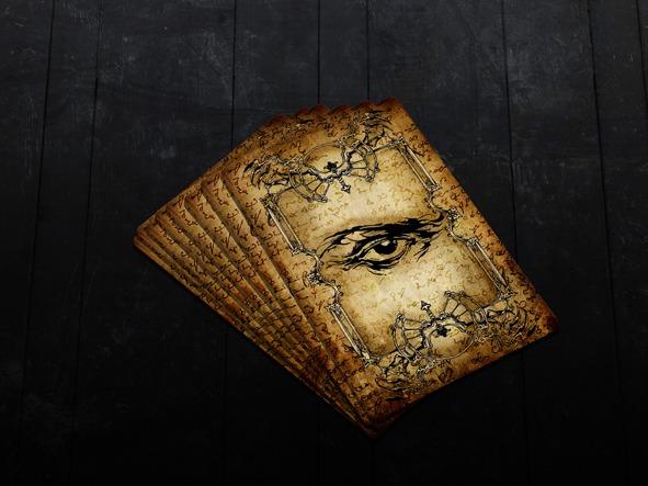 Moriarty Ilusionist Diseño de cartas Zener para mentalistas y magos profesionales.