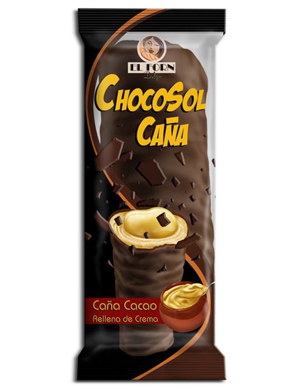 El Forn Dolç, packaging Caña de chocolate