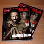Ilustración Portada The Walking Dead Brasil
