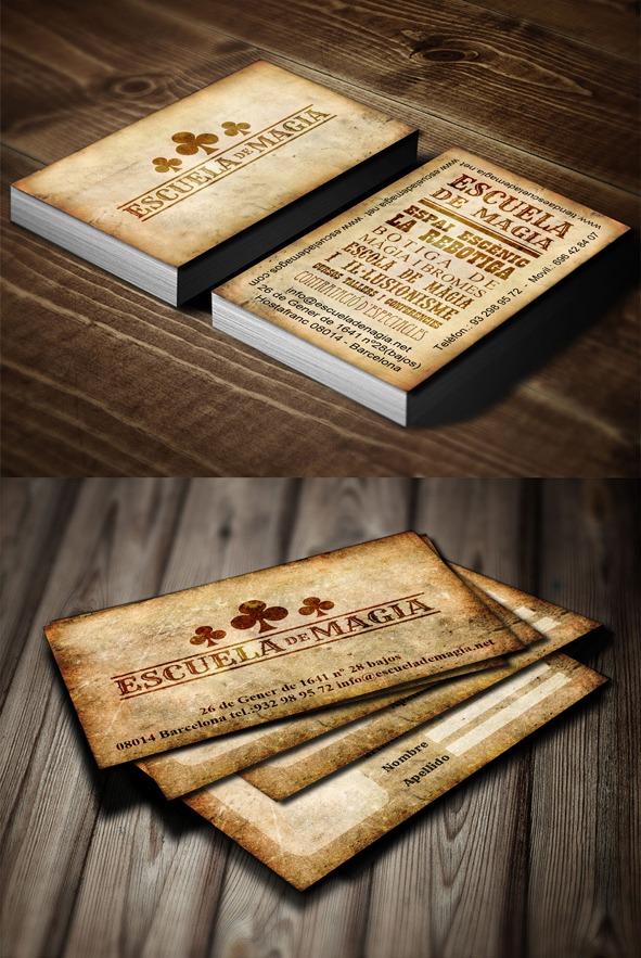Escuela de Magia Tres de Trebol. Imagen de marca y comunicación.