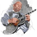 Ilustración Soul Legends B.B. King and Lucille