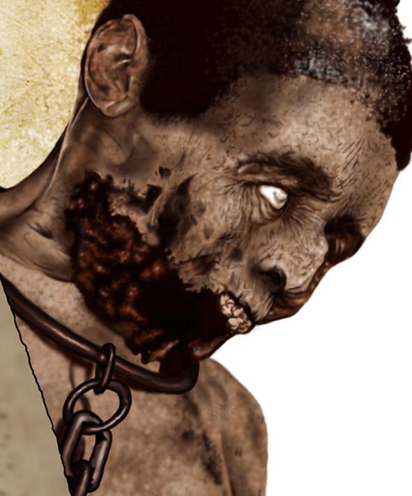 Ilustración The Walking Dead Brasil