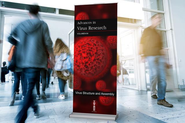 Ilustración Editorial Virus Research